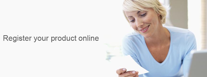 Online Warranty Registration